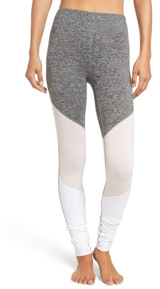 Free People 'Intuition' High Waist Colorblock Leggings