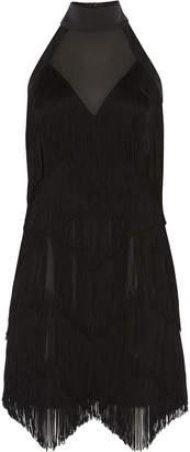 Karen Millen Fringed Tassel Dress