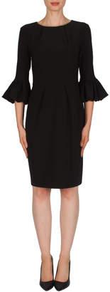 Joseph Ribkoff Ruffled Sleeve Dress