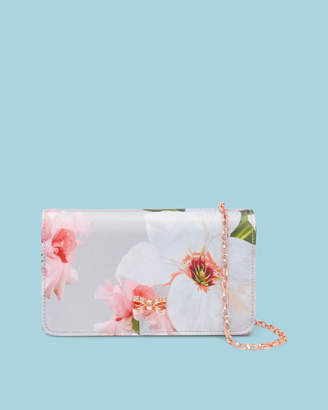 Ted Baker MELODIE Chatsworth Bloom bow detail evening bag