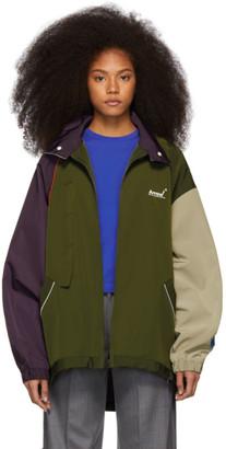 ADER error Purple Arrow Jumper Jacket