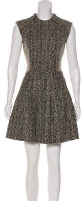 Yigal Azrouel Angora-Blend Sheath Dress