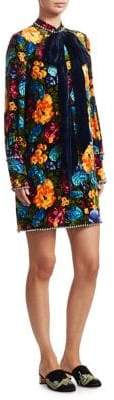 Gucci Embellished Floral Dress