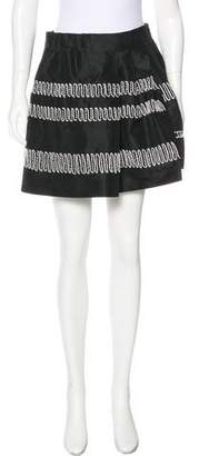 Maiyet Embroidered A-Line Mini Skirt