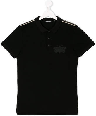 Antony Morato Junior embroidered insect polo shirt