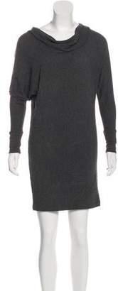 Vince Angora-Blend Mini Dress