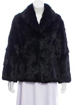Collared Fur Coat