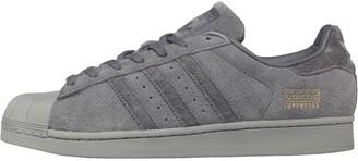 adidas Mens Superstar Trainers Grey Five/Utility Black/Utility Black