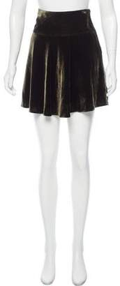 Ralph Lauren Velvet Mini Skirt