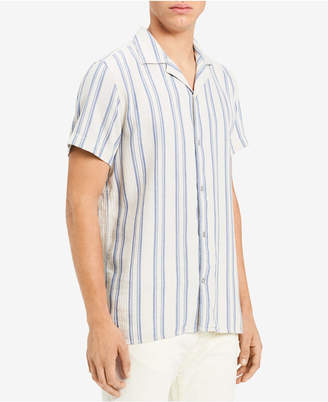 Calvin Klein Jeans Men's Loose Twill Striped Shirt