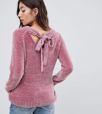 Mama Licious Mama.licious Mamalicious tie back chenille sweater