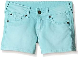Pepe Jeans Girl's Candy Plain Shorts,(Manufacturer Size: 12)