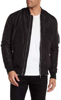 Sovereign Code Astro Quilted Bomber Jacket