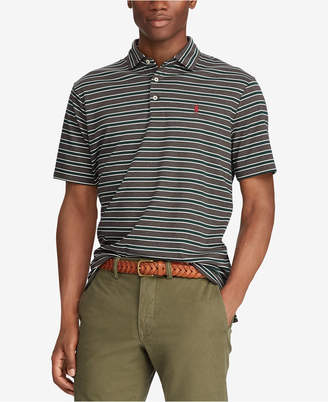 Polo Ralph Lauren Men Big & Tall Classic-Fit Soft-Touch Striped Polo Shirt
