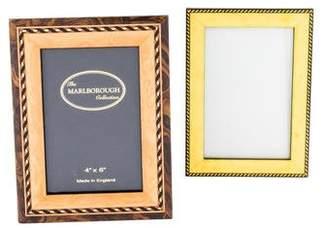 2-Piece Burlwood Frame Set