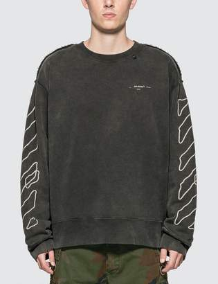 Off-White Off White Abstract Arrows Incomp Sweatshirt