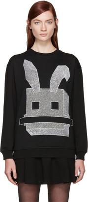 McQ Alexander Mcqueen Black Bunny Pullover $295 thestylecure.com