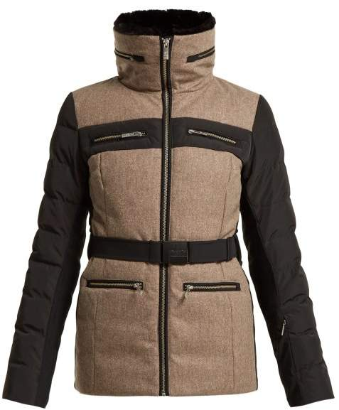 Fusalp - Mina Contrast Panel Down Filled Ski Jacket - Womens Multi