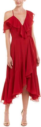 Yumi Kim Wrap Midi Dress