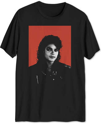 Hybrid Men's Michael Jackson Graphic T-Shirt