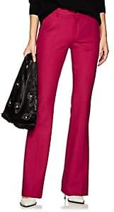 Pt01 Women's Elsa Stretch-Crepe Flare Trousers - Pink