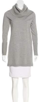Magaschoni Turtleneck Sweater Dress