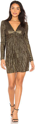 BCBGeneration Twisted Waistband Dress
