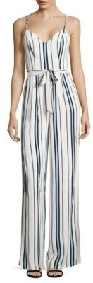 Charisma Striped Jumpsuit $198 thestylecure.com