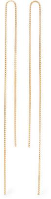 Saskia Diez Fringe 18-karat Gold-plated Earrings
