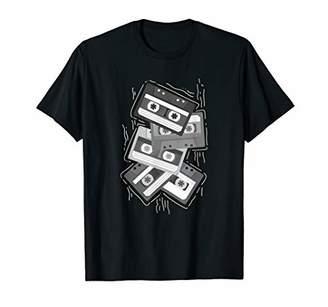 80s & 90s I Love Vintage Clothing Cassette Tape Never Forget T-Shirt