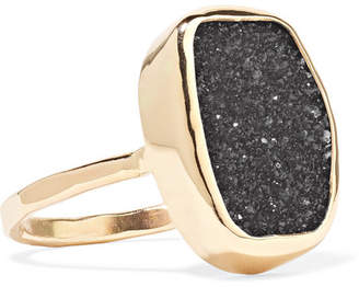46e8d820e Melissa Joy Manning 14-karat Gold Druzy Ring