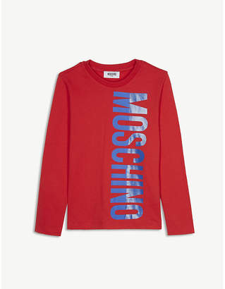 Moschino Logo long-sleeved T-shirt 8 years