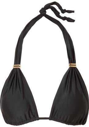Vix Bia Triangle Bikini Top - Black