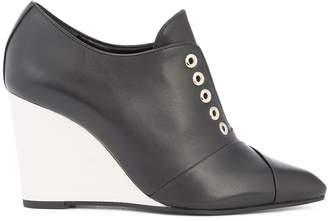 Lanvin wedge laceless boots