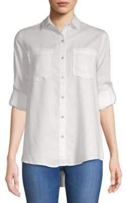 Saks Fifth Avenue Long-Sleeve Button-Down Shirt