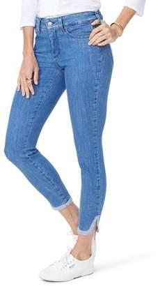 NYDJ Ami Side Slit Ankle Skinny Jeans