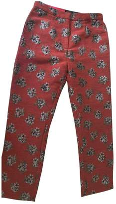 House Of Harlow Red Trousers for Women