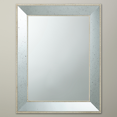 John lewis antique glass mirror cream 90 x 70cm for Miroir 90 x 70