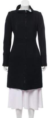 J. Mendel Ribbed Wool Coat