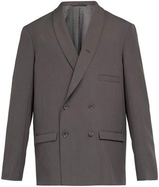 Lemaire Double-breasted wool blazer
