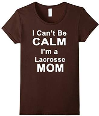 LaCrosse Womens Funny Mom Tshirt