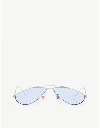 Gentle Monster Kujo 02 oval-frame sunglasses