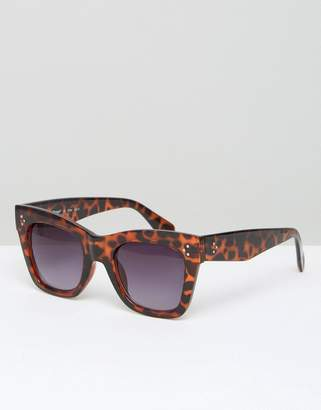 AJ Morgan Oversized Square Sunglasses in Tortoiseshell $19 thestylecure.com