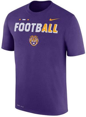 Nike Men's Lsu Tigers Football Legend T-Shirt