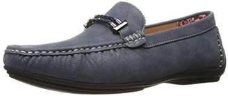 Stacy Adams Men's Percy-Braided Strap Driving Moc Oxford