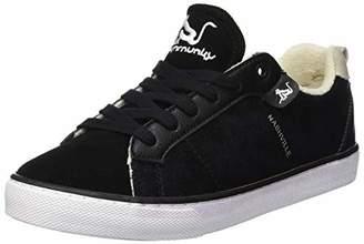 Drunknmunky Women's Nashville Look Gymnastics Shoes, (Black 112)