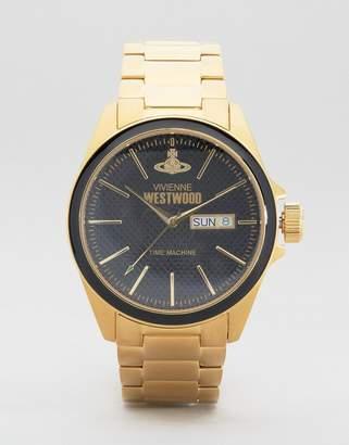 Vivienne Westwood Gold Metal Watch