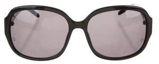 Montblanc Resin Round Sunglasses