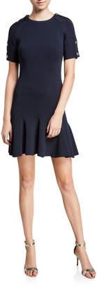 Jonathan Simkhai Compact Fit & Flare Dress