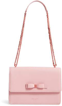Ted Baker Joannaa Crossbody Pebbled Leather Bag